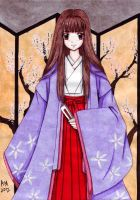 Heian princess by Vestal-Spirit