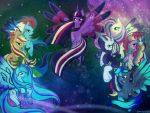 Request: Let the Rainbow of Friendship Remind You by AquaAngel1010