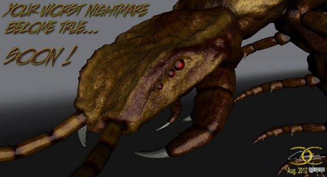 Tyrannopendra - first texture and material-test by ancestorsrelic