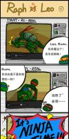 TMNT comic strip 4 chinese by Colend