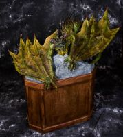 Large Scale River Dragon New Photoshoot by RavendarkCreations