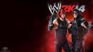 Brothers Of Destruction ~ WWE 2K14 HD Wallpaper by MhMd-Batista