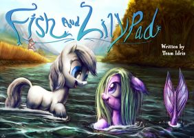 Fish and Lilypad title card by Jowybean