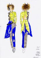 Pop Fiction Costume Design by Misguided-Ghost1612
