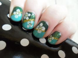 For St Patricks Day by NailedItWithGlitter