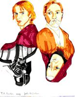 Reflections Obi-Wan and Anakin by WildHorseFantasy