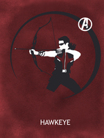 Hawkeye Poster by Mr-Saxon