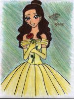 Cosplaying time as Belle by zenil-kay