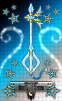 Keyblade Gravity of Heaven by Marduk-Kurios