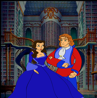 Belle and adam by gohana