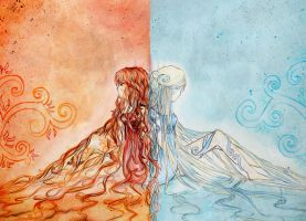 fire and ice. by xxtasnim