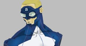 Captain A. redesign preview. by bvcomics
