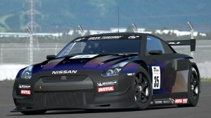Nissan GT-R R35 Touring Car (Gran Turismo 6) by Vertualissimo