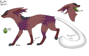 Earth Dereon Adopt #9 (Closed) by dragons011