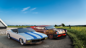 Two Buicks by bacarlitos