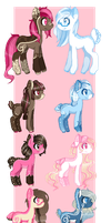 Breedable set by MellowBunBun