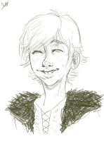 Sketch 1 Hiccup by TheDeepestKing