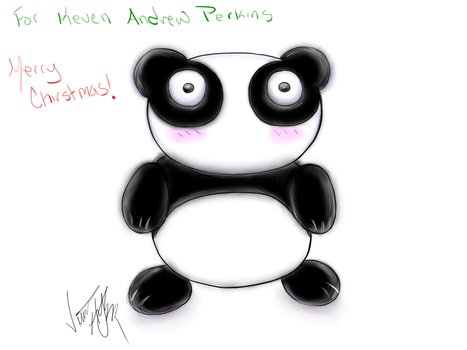 Panda Bear (Request) by flavor-of-life4ever