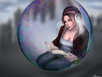 Introvert Bubble by Anadia-Chan