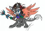 Chibi Fursona - Louie by dragonheart07