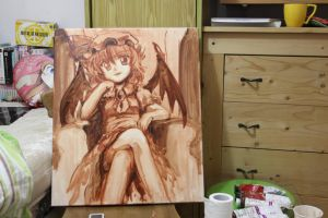 Remilia Oil Painting Rough by yo-chaosangel