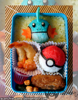 Mudkip Bento by Scorchie-Critter