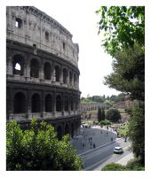 colosseum by divinedecay