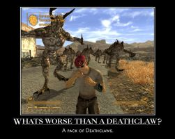 Worse than a Deathclaw. by Orga1001