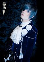 Ciel Phantomhive, looking closely by hakucosplay