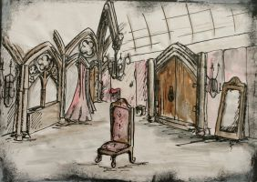 The Marriage of Figaro: Stage Design by Dragon-Ling
