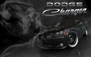 Dodge Charger Wallpaper Style by SmokinGrafix