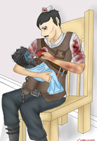 Agarthian zombie baby by Sniper-Huntress