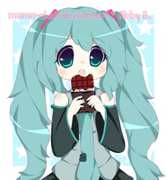 Miku's Chocolate by lummina