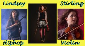 Lindsey Stirling - Hiphop Violin Girl YELLOW 640x by SeraphSirius