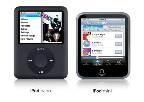 The new iPod mini by usedHONDA
