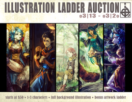 ::AUCTION:: Illustration Ladder Auction [CLOSED] by Jotaku