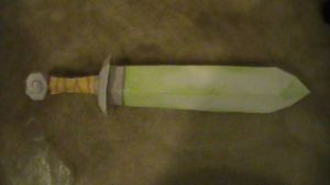 LoZ WW Sword papercraft by NinjaKirby144