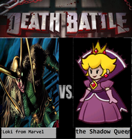 loki from Marvel Vs The Shadow Queen from Mario by newsuperdannyzx