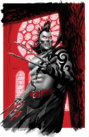 Dark Wolverine 2 Vampire Color by mikemayhew