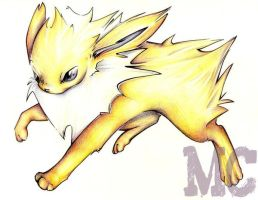Jolteon by Dansenair