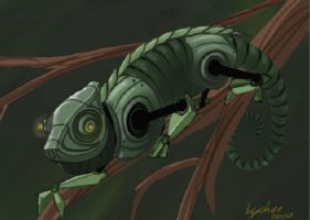 Mechameleon by Protowing