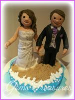 Married By The Seaside Toppers by gertygetsgangster