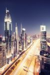 dubai lightstream by Fersy