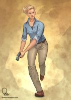 Elena Fisher - Uncharted 3 by nirman