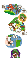 Something's Wrong with the Plumbing Comic by bulgariansumo