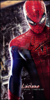 spider man - gift to luciano by BrunaDM