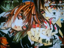 Vampire Knight desktop screen by flowerangel050