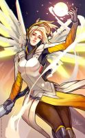 Overwatch: Mercy by MaR-93