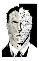 TWO FACE by drawhard