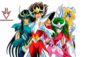 Saint Seiya - Render by Obedragon